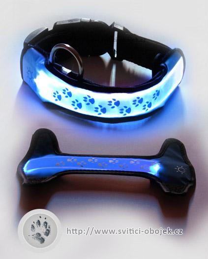 Svítící návlek - Modrý