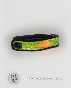 Reflexní náramek LED