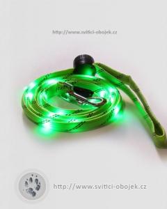 Svítící vodítko pevné - Zelené